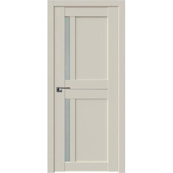 Дверь Профиль Дорс 19U Магнолия сатинат - со стеклом (Товар № ZF209213)