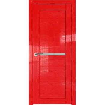 Дверь Профиль дорс 2.43STP Pine Red glossy - со стеклом (Товар № ZF210078)