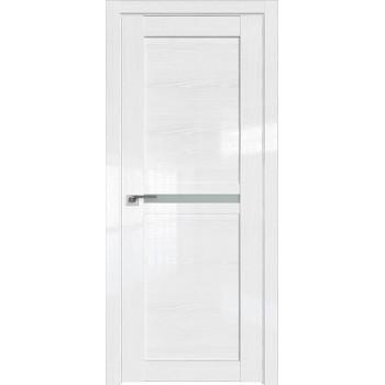 Дверь Профиль дорс 2.43STP Pine White glossy - со стеклом (Товар № ZF209994)
