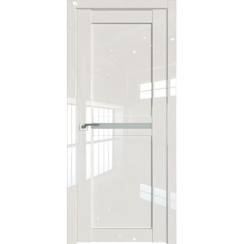 Дверь Профиль дорс 2.43L Магнолия люкс - со стеклом (Товар № ZF211794)
