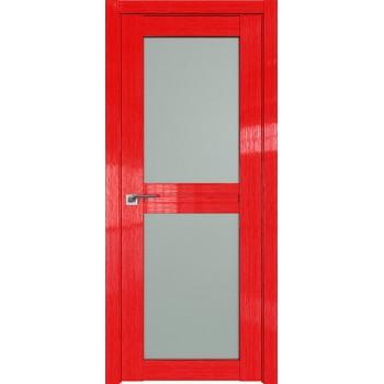 Дверь Профиль дорс 2.44STP Pine Red glossy - со стеклом (Товар № ZF210057)