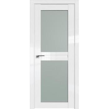Дверь Профиль дорс 2.44STP Pine White glossy - со стеклом (Товар № ZF209995)