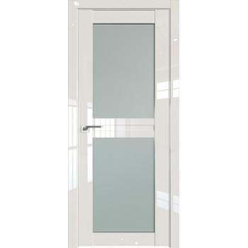 Дверь Профиль дорс 2.44L Магнолия люкс - со стеклом (Товар № ZF211797)