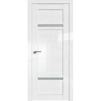 Дверь Профиль дорс 2.45STP Pine White glossy - со стеклом (Товар № ZF212304)