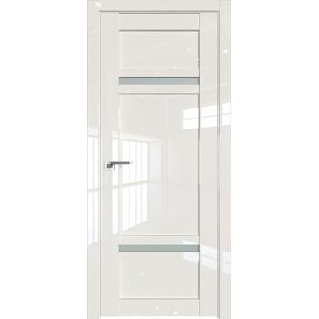 Дверь Профиль дорс 2.45L Магнолия люкс - со стеклом (Товар № ZF211799)