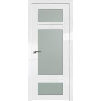 Дверь Профиль дорс 2.46STP Pine White glossy - со стеклом (Товар № ZF212341)
