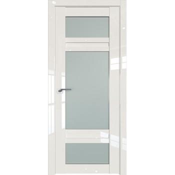 Дверь Профиль дорс 2.46L Магнолия люкс - со стеклом (Товар № ZF211803)
