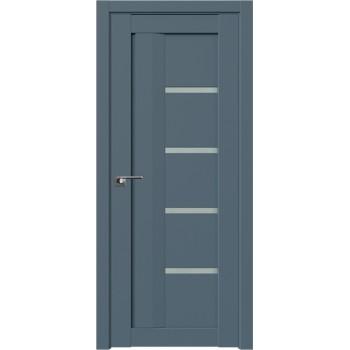 Дверь Профиль дорс 2.08U Антрацит - со стеклом (Товар № ZF211121)