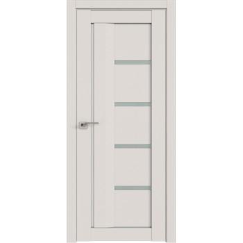 Дверь Профиль дорс 2.08U Дарк вайт - со стеклом (Товар № ZF211415)