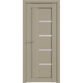 Дверь Профиль дорс 2.08U Шеллгрей - со стеклом (Товар № ZF210991)