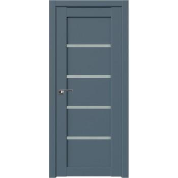 Дверь Профиль дорс 2.09U Антрацит - со стеклом (Товар № ZF211123)