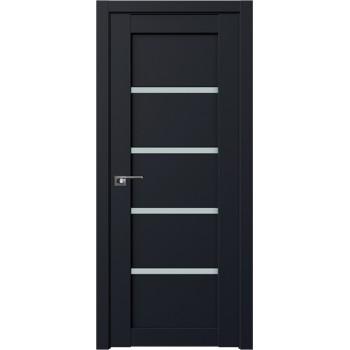 Дверь Профиль дорс 2.09U Черный матовый - со стеклом (Товар № ZF211627)