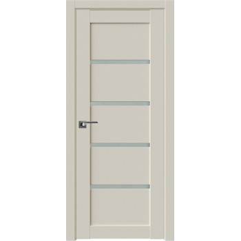 Дверь Профиль дорс 2.09U Магнолия сатинат - со стеклом (Товар № ZF211526)