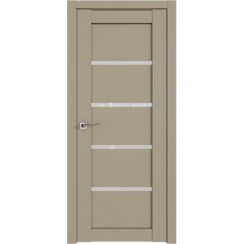 Дверь Профиль дорс 2.09U Шеллгрей - со стеклом (Товар № ZF210993)