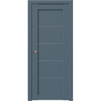 Дверь Профиль дорс 2.11U Антрацит - со стеклом (Товар № ZF211124)