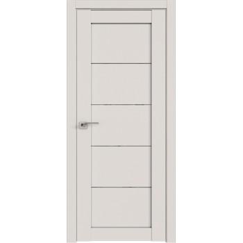 Дверь Профиль дорс 2.11U Дарк вайт - со стеклом (Товар № ZF211420)