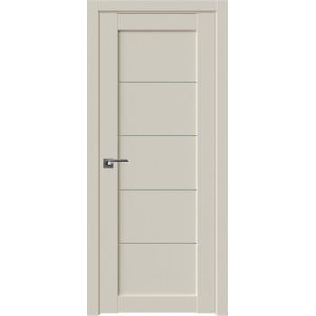 Дверь Профиль дорс 2.11U Магнолия сатинат - со стеклом (Товар № ZF211528)