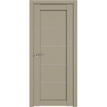 Дверь Профиль дорс 2.11U Шеллгрей - со стеклом (Товар № ZF210994)
