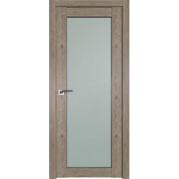 Дверь Профиль дорс 2.19XN Каштан темный - со стеклом (Товар № ZF209915)