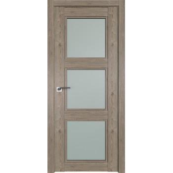 Дверь Профиль дорс 2.27XN Каштан темный - со стеклом (Товар № ZF209916)