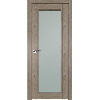 Дверь Профиль дорс 2.33XN Каштан темный - со стеклом (Товар № ZF209929)