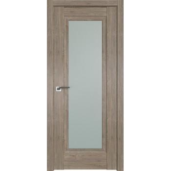 Дверь Профиль дорс 2.35XN Каштан темный - со стеклом (Товар № ZF209930)