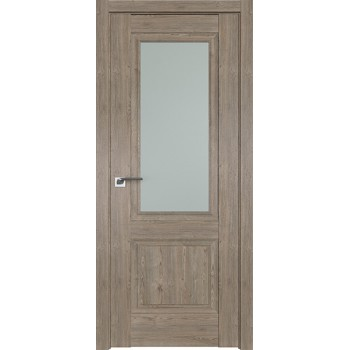 Дверь Профиль дорс 2.37XN Каштан темный - со стеклом (Товар № ZF212217)