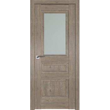 Дверь Профиль дорс 2.39XN Каштан темный - со стеклом (Товар № ZF212219)