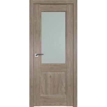 Дверь Профиль дорс 2.42XN Каштан темный - со стеклом (Товар № ZF209925)