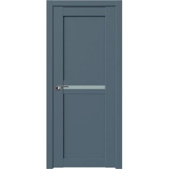 Дверь Профиль дорс 2.43U Антрацит - со стеклом (Товар № ZF211191)