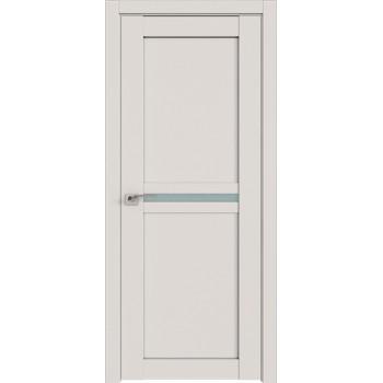 Дверь Профиль дорс 2.43U Дарк вайт - со стеклом (Товар № ZF211466)