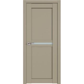 Дверь Профиль дорс 2.43U Шеллгрей - со стеклом (Товар № ZF211022)