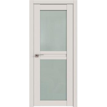 Дверь Профиль дорс 2.44U Дарк вайт - со стеклом (Товар № ZF211467)