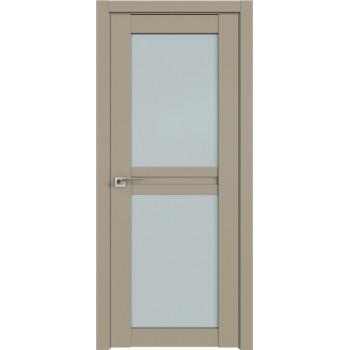 Дверь Профиль дорс 2.44U Шеллгрей - со стеклом (Товар № ZF211028)