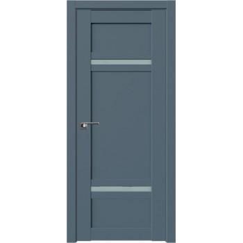 Дверь Профиль дорс 2.45U Антрацит - со стеклом (Товар № ZF211198)