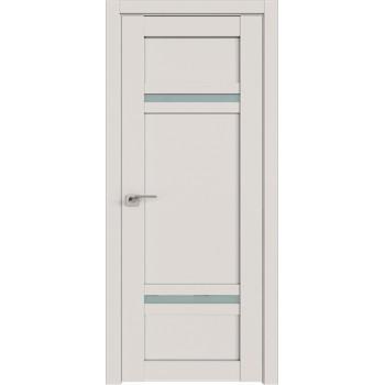 Дверь Профиль дорс 2.45U Дарк вайт - со стеклом (Товар № ZF211468)