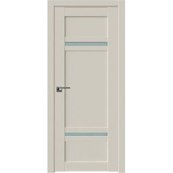 Дверь Профиль дорс 2.45U Магнолия сатинат - со стеклом (Товар № ZF211566)