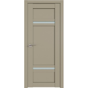 Дверь Профиль дорс 2.45U Шеллгрей - со стеклом (Товар № ZF211032)