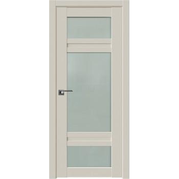 Дверь Профиль дорс 2.46U Магнолия сатинат - со стеклом (Товар № ZF211569)