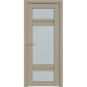 Дверь Профиль дорс 2.46U Шеллгрей - со стеклом (Товар № ZF211033)