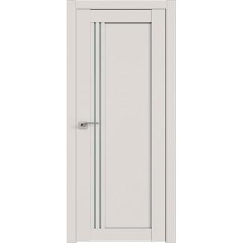 Дверь Профиль дорс 2.50U Дарк вайт - со стеклом (Товар № ZF211462)