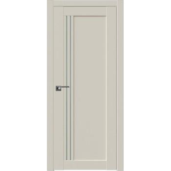Дверь Профиль дорс 2.50U Магнолия сатинат - со стеклом (Товар № ZF211556)