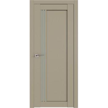Дверь Профиль дорс 2.50U Шеллгрей - со стеклом (Товар № ZF211010)