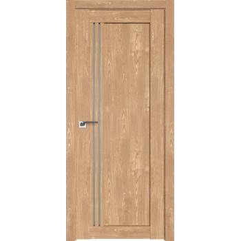 Дверь Профиль дорс 2.50XN Каштан натуральный - со стеклом (Товар № ZF212299)