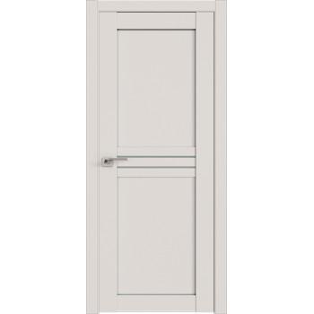 Дверь Профиль дорс 2.55U Дарк вайт - со стеклом (Товар № ZF211461)