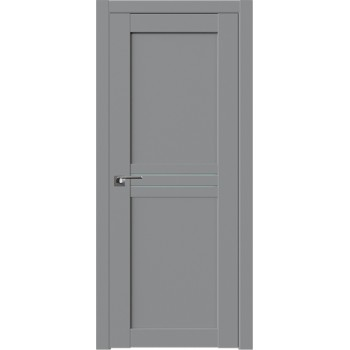 Дверь Профиль дорс 2.55U Манхэттен - со стеклом (Товар № ZF211322)