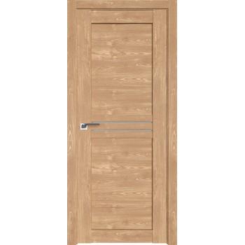 Дверь Профиль дорс 2.55XN Каштан натуральный - со стеклом (Товар № ZF212336)