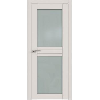 Дверь Профиль дорс 2.56U Дарк вайт - со стеклом (Товар № ZF211473)