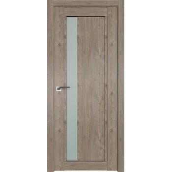 Дверь Профиль дорс 2.71XN Каштан темный - со стеклом (Товар № ZF212261)
