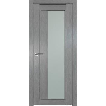 Дверь Профиль дорс 2.72XN Грувд серый - со стеклом (Товар № ZF212107)